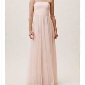 Anthropologie-BHLDN bridesmaid gown.